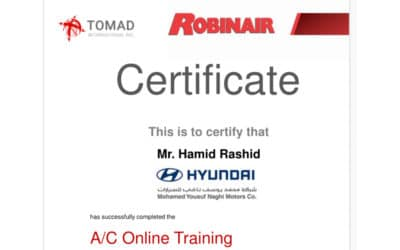 TOMAD Online Training during COVID-19