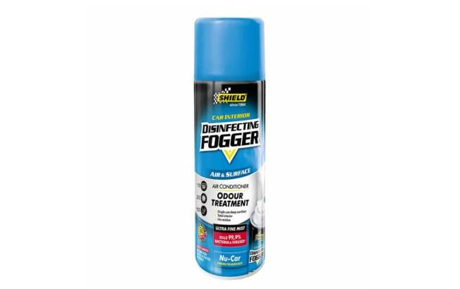 SHIELD DISINFECTING FOGGER KILLS 99.9% OF BACTERIA AND VIRUSES
